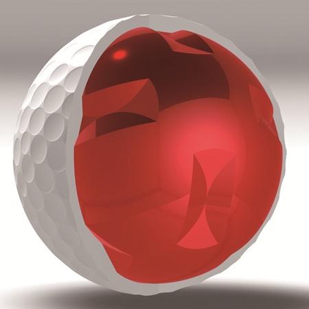 Balle D201: Un spin intelligent grâce à la technologie de noyau croisé