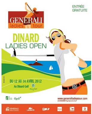 Dinard Ladies Open de golf 2012