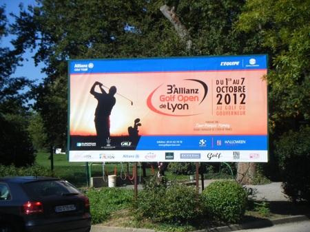 Qui a entendu parler de l'Allianz Golf tour de Lyon ?