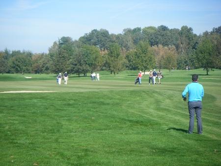 La foule des grands jours sur une partie de l'Allianz Golf tour 2012 !