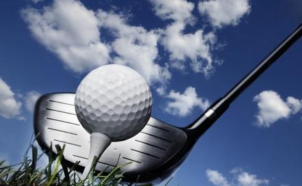 Effets et balles de golf