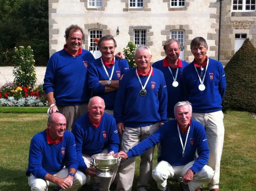 L'équipe senior golf de La Baule remporte le Trophée Saint-Sauveur pour la 2ème année consécutive