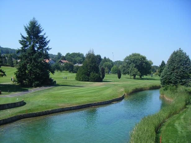 Parcours d'Evian avant le début du tournoi et les prochains travaux d'aménagement du prochain Evian Championship 2013