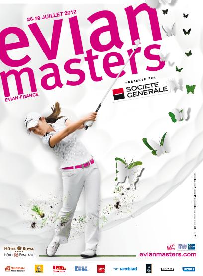 Affiche de l'EVIAN MASTERS 2012