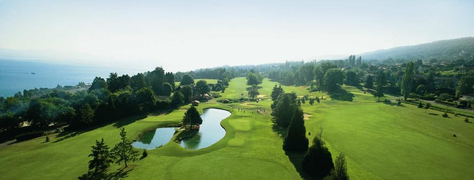 Réaménagement au golf d'Evian