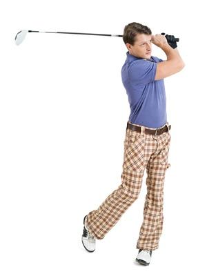 Stabilité du bas du corps et bassin moteur du swing