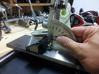 Fitting de précision sur un putter