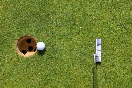 L' attitude idéale pour réussir au golf