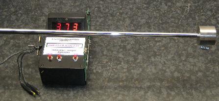 Une machine qui analyse la fréquence d'un shaft
