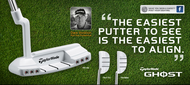 Putter TaylorMade Ghost Tour