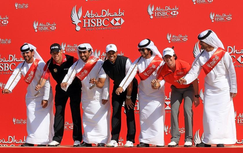 Tiger Woods pour une première au Abu Dhabi HSBC Golf Championship