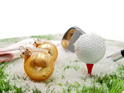 jouer au golf pendant les f tes de fin d 39 ann e. Black Bedroom Furniture Sets. Home Design Ideas