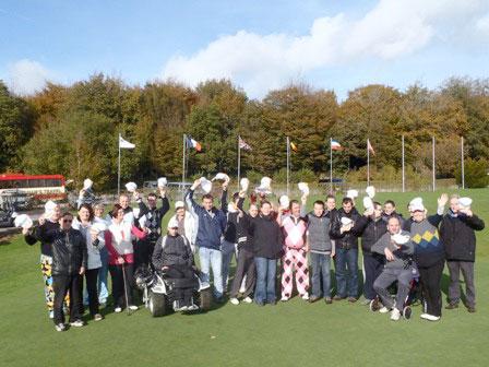 Golf Handicup 2013 : Un succès pour une première !