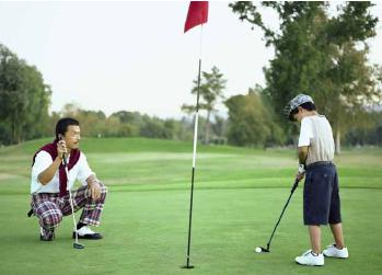 Développement du golf en Chine