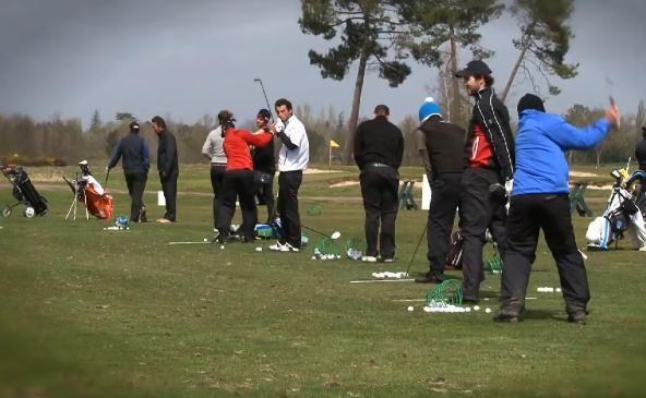Practice du Médoc pour le Grand Prix PGA Schweppes 2013