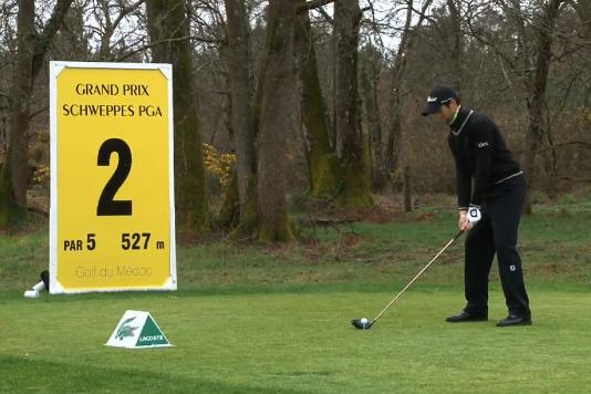 Gregory Bourdy en tête du Grand Prix PGA Schweppes 2013