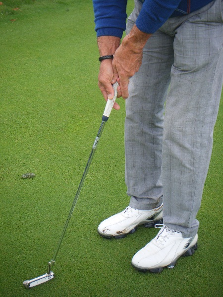 Le bon grip au putting