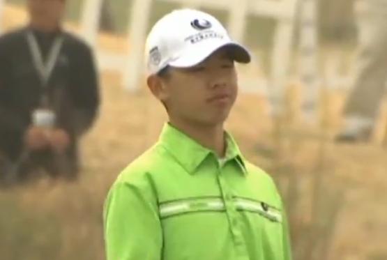Guan Tian Lang : le nouveau prodige du golf chinois