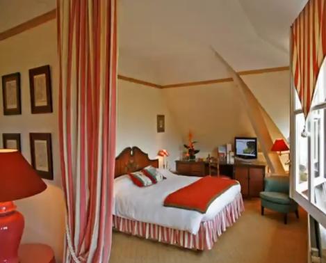 Ambiance cosy dans un hôtel golf
