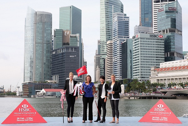 Working girl, business women et golfeuses au HSBC Women's Champions 2013