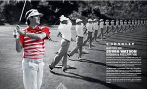 Tenue de Bubba Watson au Masters 2013