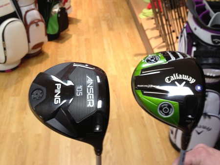 Driver PING ANSER Vs CALLAWAY RAZR FIT XTREME