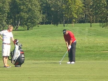 Pas de problème de concentration sur l'Allianz Golf Tour 2012 !