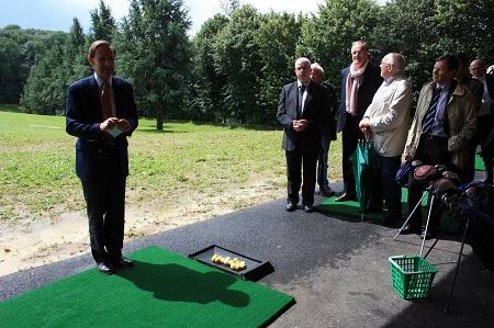 Inauguration du practice au Golf de Belleme