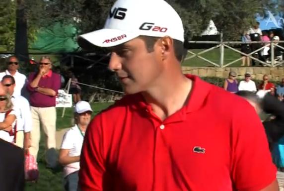 Julien Quesne, 5ème du Volvo Golf Champions