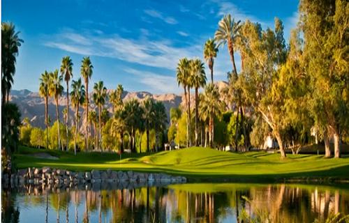 Le parcours de Missions Hills Country Club à Rancho Mirage, terre d'accueil du KNBC