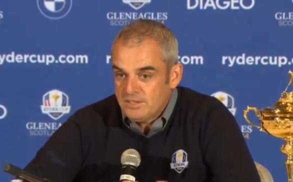 Paul McGinley, premier Irlandais nommé capitaine en Ryder Cup