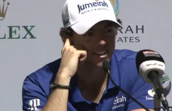 Rory McIlroy remporte le DP World Tour Championship 2012
