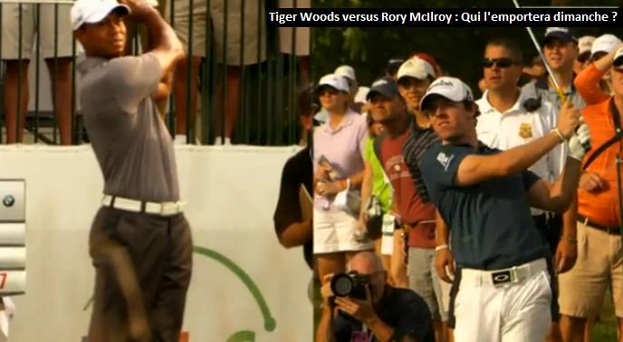 Rory McIroy Versus Tiger Woods peut-être réuni chez le même équipementier