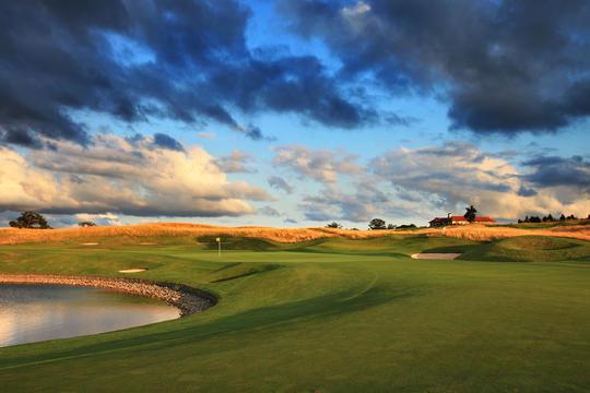 Le golf d'Oxfordshire