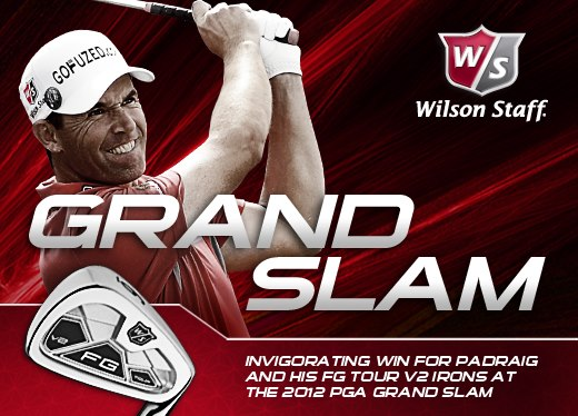 Padraig Harrington remporte le PGA Grand Slam of golf 2012