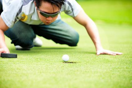 Passionné de golf !