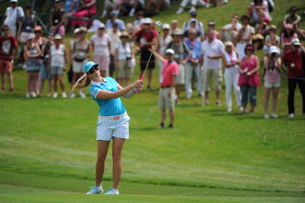 Paula Creamer : en chasse pour remporter un deuxième Evian Masters