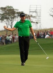 Peter Hansson, meilleur suédois de la saison 2012 de golf