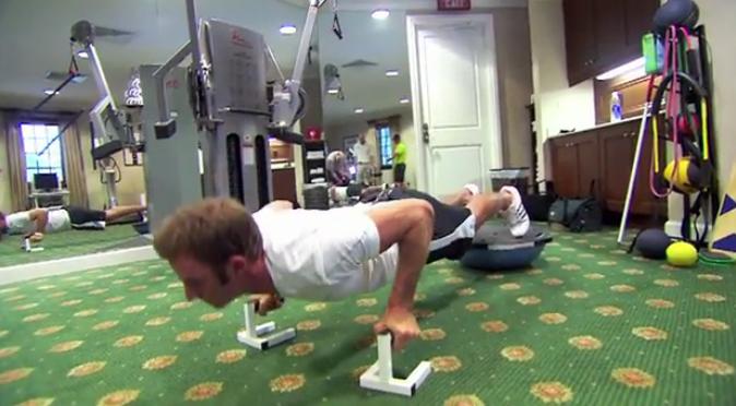 Exercice classique pour le sport et le golf : les pompes !
