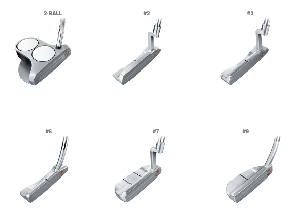 Putters Odissey Séries TOUR PROTYPE®