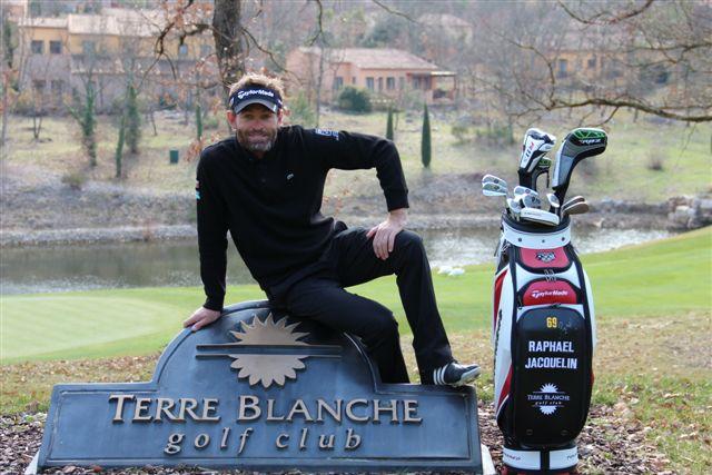 Raphael Jacquelin, parrain du golf de Terre Blanche