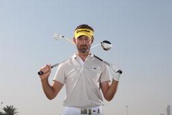 Raphael Jacquelin, leader du golf tricolore