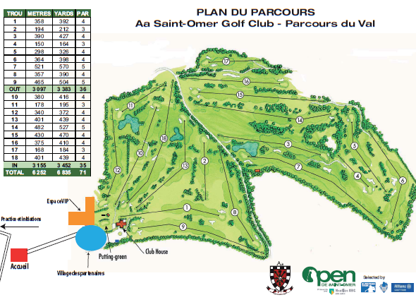 Interview Jean-Jacques Durand (Président de l'Aa Saint-Omer Golf Club)