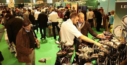 Salon du golf 2012 à Paris Porte de Versailles…