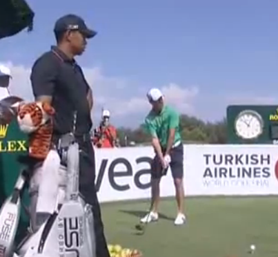 Schwartzel en short au travail ! Un motif de licenciement du Turkish Airlines World Golf Final ?