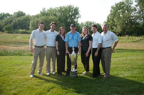 Roger Chapman, vainqueur du SENIOR PGA Championship 2012
