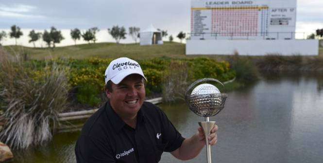 Shane Lawry remporte le Portugal Masters 2012
