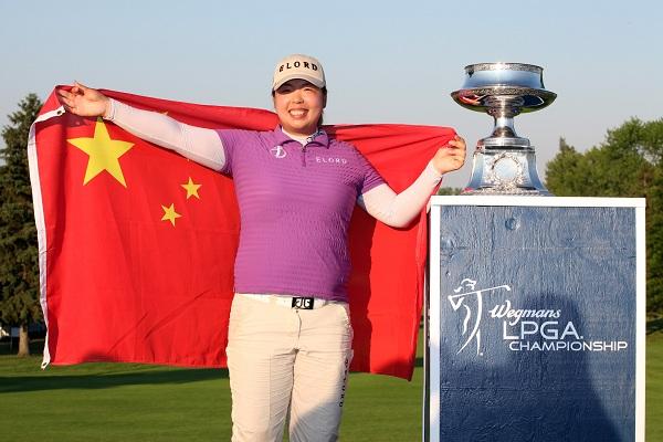 Shanshan Feng, victorieuse en 2012