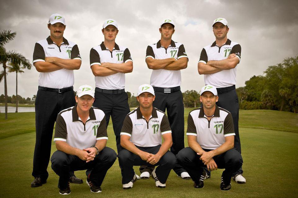 Le team TaylorMade Golf en 2013