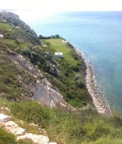 Vue du départ d'un trou sur le Thraccian Golf Course - Prise de vue de Francesco Molinari